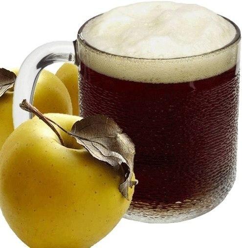 Уникальные свойства яблочного кваса