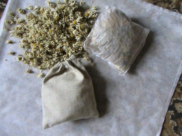 Травяная мыло-мочалка