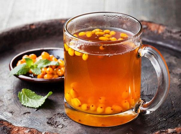 Облепиховый чай - лучший антидепрессант